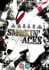 Smokin' Aces (DVD, 2010) action movie smoking gangster film adventure