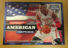 2014-15 PANINI TOTALLY CERTIFIED G.A. HEROES #/299 DWIGHT HOWARD HOUSTON ROCKETS