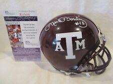 Mark Moseley Autographed Stephen F. Austin St. Mini Helmet – JSA Cert