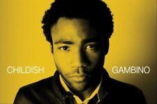 CHILDISH GAMBINO ~ PORTRAIT ON YELLOW ~ 24x36 MUSIC POSTER Donald Glover!
