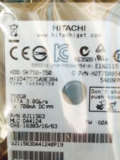 "*New* Hitachi HTS547575A9E384 (0J11563) 750GB, 5400RPM, 2.5"" Internal Hard Drive"