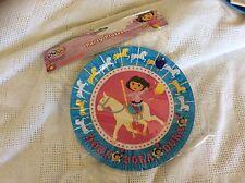 Dora the explorer party plates. Large