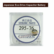 Japanese Citzen 295.76  Eco-Drive Capacitor Genuine Watch Battery MT516F