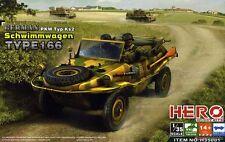 HERO HOBBY KITS GERMAN SCHWIMMWAGEN TYPE 166  Scala 1/35 Cod.H35001