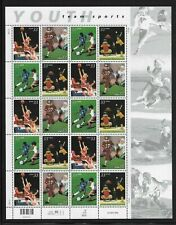 US 33 cent BASEBALL Pane of 20 Scott #3399-3402 MNH