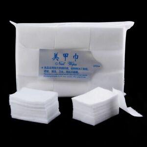900pcs Nail Polish Remover Wraps Lint Free Wipes Cotton Napkin Bath Manicure Gel