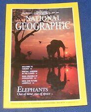 NATIONAL GEOGRAPHIC MAGAZINE MAY 1991 - ELEPHANTS/CHICAGO/BHUTAN/ANCIENT IRAQ