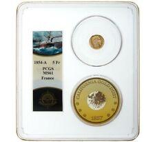 Napoleon III 5 Francs or PCGS MS 61 Trésor Naufrage shipwreck SS Central America