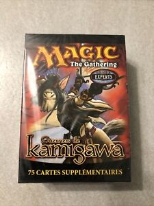 NEUF NEW carte deck tournoi magic the gathering MTG kamigawa 75 carte française