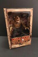 "X-PLUS Cyclops 12"" Figure Ray Harrihausen 7th Voyage of Sinbad MIB 2001"