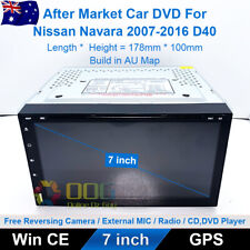 "7"" Car DVD GPS Navigation Head Unit Stereo For Nissan Navara 2007-2016 D40"