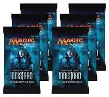 6x MtG Magic the Gathering Shadows Over Innistrad SOI Booster Packs DRAFT SET
