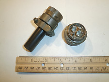 USED - MS3106A 20-22P (SR) with Bushing - 6 Pin Plug - Cannon