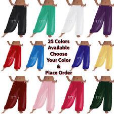 Women Harem Pants Yoga Girl Chiffon Belly Dance Halloween Pantaloons Trousers