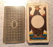 carte per l'estero + Bollo 1972 gennaio DAL NEGRO carte da gioco