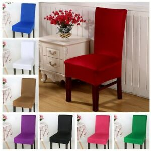 Spandex Stretch Elastic Wedding Banquet Dining Room Chair Seat Cover Party Decor