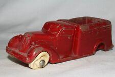 Rainbow Rubber, 1935 Studebaker Stake Truck, Red, Original #2