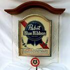 Pabst Blue Ribbon Beer Sign Pabst Crystal Heritage Bar Lighted Original Vintage