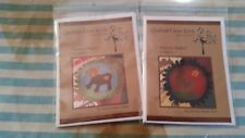 CRITTERS  QUILTING PATTERN, From Quilted Crow Girls Designs lot of 2