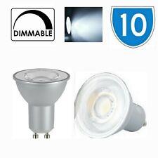 10x Kanlux Iq LED GU10 Dimmable Ampoule 6500K Lumière Jour Froid Blanche 7W 865