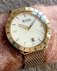 Bulova Accutron II Constant Hi Frequency Sweep Insanely Accurate As New Full Set