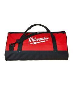 "New Extra Large 23 Inch Milwaukee Heavy Duty Tool Bag 23""L x 12""W x 12""D w strap"