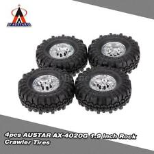 4pcs AUSTAR AX-4020G 1.9 inch 110mm Rock Crawler Tires for 1/10 RC Car O7D4