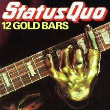 STATUS QUO 12 Gold Bars CD BRAND NEW Best Of Compilation