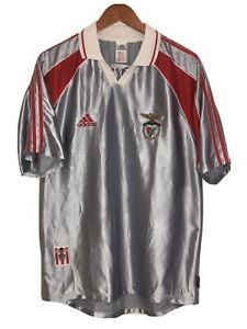 Adidas Climalite SL Benfica Vintage Jersey MINT Mens (M)