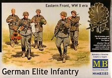 "1/35  Master Box  ""German Elite Infantry"", Eatern Front, WWII era - 5 Fig"