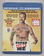 NEUF BLU RAY + COPIE DIGITALE MAC PC SUPER CASH ME SOUS BLISTER  Morgan Spurlock