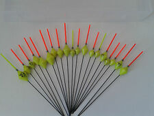 HAND MADE POLE FISHING FLOATS - RIZOV RF71 - 18 PCS.-3x0.2/0.3/0.4/0.6/0.8/1 GR.