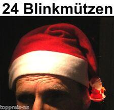 Bonnet de Père Noël Weihnachtshut Clignotant Fête