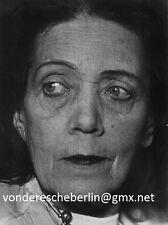 Werner eckelt Mary Wigman-ritratto delle grosse ballerina D. espressionismo 1956