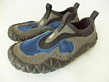 TEVA PROTON WATER SHOES BLUE & GRAY W SPIDER RUBBER CHILDS SIZE US 11 EUR 28