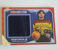 2019-20 NBA Hoops Kevin Porter Jr. Holiday Sweater Relic RC Cavaliers