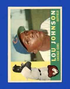 1960 Topps Set Break #476 Lou Johnson EX-EXMINT *GMCARDS*