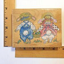 Stamps Happen, Inc. - Easter Basket Bunnies 80004 - NEW