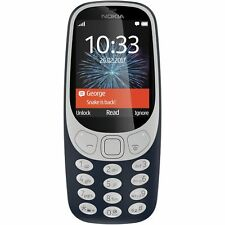 Vodafone Nokia 3310 2.4 Inch 16GB 2MP Mobile Phone - Grey Blue - Argos eBay