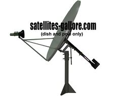 1.2m (48 inch) Ku-Band Solid Offset Satellite Dish