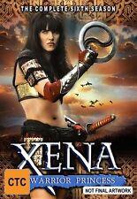 Xena - Warrior Princess : Series 6 (DVD, 2004, 6-Disc Set) GREAT CONDITION