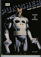 Punisher Return to big Nothing near mint graphic novel hard cover book