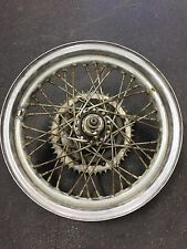 Triumph T120 Wheel 16 X 3 With Brake Drum , Axle And Adjusters