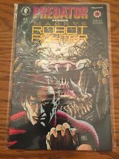 PREDATOR VERSUS MAGNUS ROBOT FIGHTER #1, 2 (1993) BY DARK HORSE / VALIANT COMICS