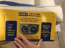 NOS vintage dual gauge set Hot rod muscle car rat truck gauges  / Accurate