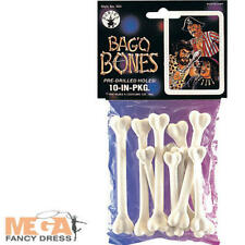 Bag of Bones Fancy Dress Caveman Cave Girl Halloween Pirate Costume Accessory