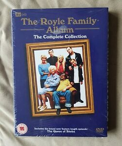 The Royle Family - Series 1-3 Complete Collection Box Set 2006 - NEW SEALED DVD