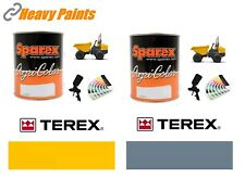 Terex Dump Truck Yellow & Grey Paint High Endurance Enamel Paint 1 Litre Tins