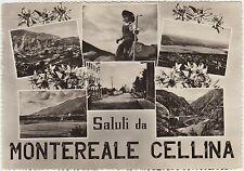 SALUTI DA MONTEREALE CELLINA - VEDUTINE (PORDENONE)