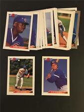 1992 Bowman Chicago Cubs Team Set 23 Cards